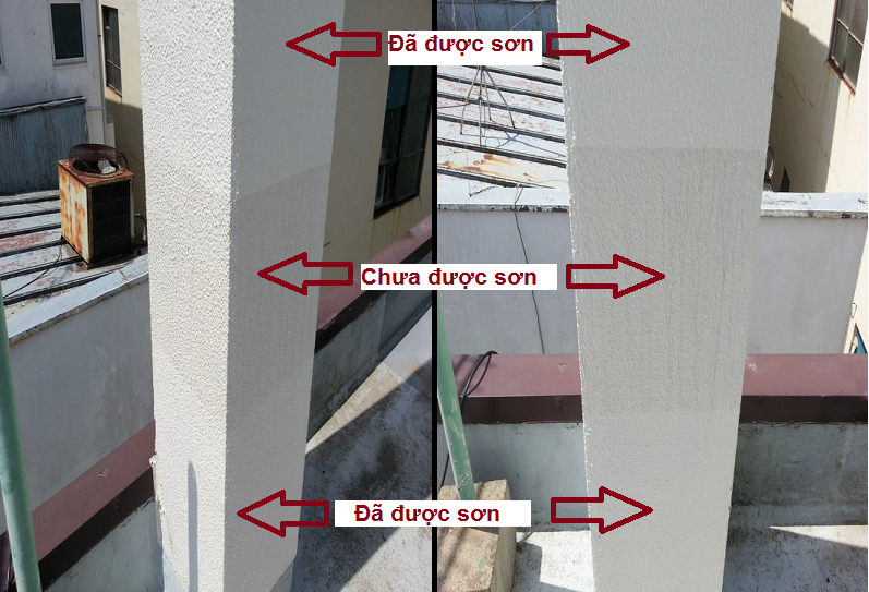 Phủ NANO trên bề mặt bê tông